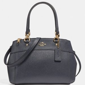 NEW Coach classic Leather Satchel crossbody bag
